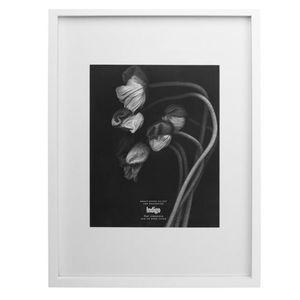 White gallery frames boho minimalist art display